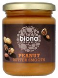 Peanut butter smooth biona