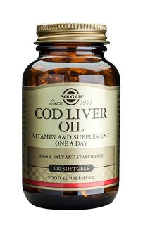 Cod liver oil solgar 250 large