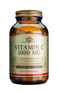 C vitamiini 1000mg solgar large