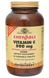 Vitamin c 500 mg chewable solgar