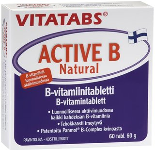 Vitatabs active b natural 60 tabl 032017